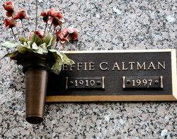 Effie <i>Canaday</i> Altman