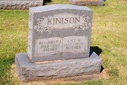 Rev John William Andrew Kinison