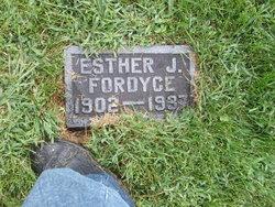 Ester J Fordyce
