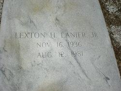 Lexton Hardy Lanier, Jr