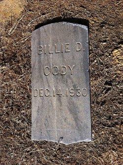 Billie D Cody