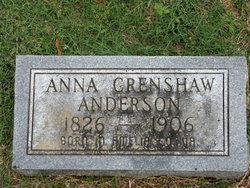 Anna Crenshaw Anderson
