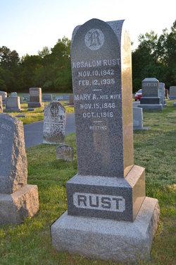 Mary <i>Dodd</i> Rust