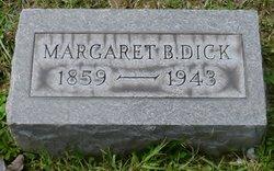 Margaret B. Maggie <i>Lippert</i> Dick