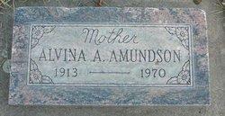 Alvina Anna <i>Hansen</i> Amundson
