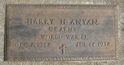 Harry Harlan Sox Anyan