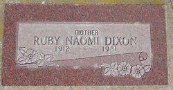 Ruby Naomi Dixon