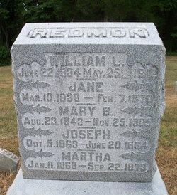 Jane <i>Upton</i> Redmon
