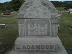 Amanda Jane <i>Lackey</i> Adamson