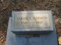 Sara <i>Smith</i> Harmon