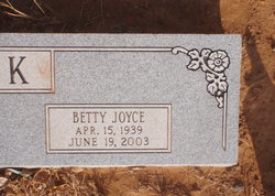 Betty Joyce <i>Nutt</i> Beck