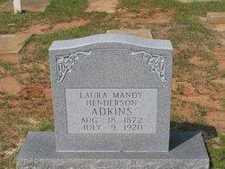 Laura Mandy <i>Henderson</i> Adkins