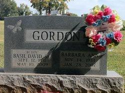 Basil David Buddy Gordon, Sr