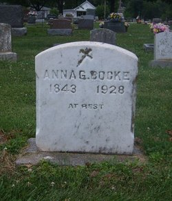 Anna Gertrude <i>Oenning</i> Bocke