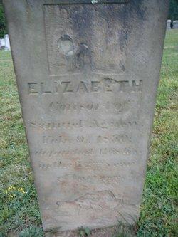 Elizabeth <i>Johnston</i> Agnew