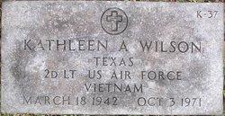 Lieut Kathleen A. Wilson
