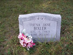 Thena Ivy Jane <i>Mounce</i> Bixler