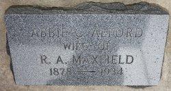 Abbie C. <i>Alford</i> Maxfield