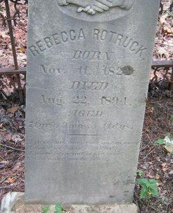 Rebecca <i>George</i> Rotruck