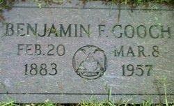 Benjamin Franklin Gooch