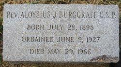 Rev Fr Aloysius John Burggraff