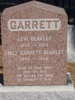 Emily Carolina <i>Coe-Reed</i> Garrett Blakeley