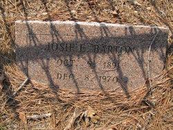Josie E <i>Hooper</i> Barton