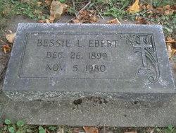 Bessie L. Ebert
