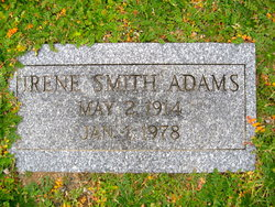 Irene Smith Adams