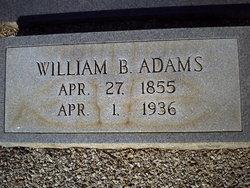 William B. Billy Adams