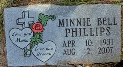 Minnie Bell <i>Moore</i> Phillips