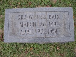 Grady Lee Bain