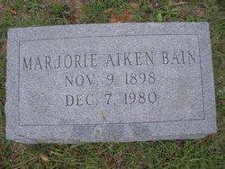 Marjorie <i>Aiken</i> Bain
