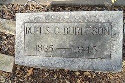 Rufus C Burleson