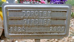Dorothy Mae <i>Coles</i> Girdner