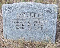 Sallie L. <i>Norwood</i> Wolff