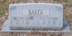 Nona Catherine <i>Wolff</i> Baker