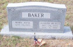 Joseph Rufus Baker