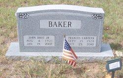 John Dhot Baker, Jr
