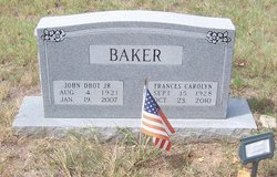 Frances Carolyn Baker
