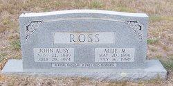 John Ausy Ross