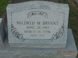 Mildred <i>McElwee</i> Bryant