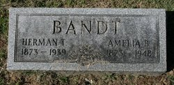 Amelia <i>Burge</i> Bandt
