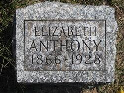Elizabeth Ann <i>Loucks</i> Anthony
