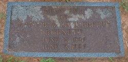Infant Twin Burnett