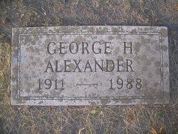 George H Alexander