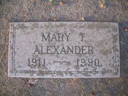 Mary <i>Thompson</i> Alexander