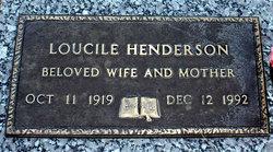Emma Loucile <i>Grant</i> Henderson