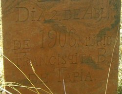 Francisqita B De Tapia