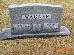 Sarah Lydia <i>Wilkerson</i> Wagner